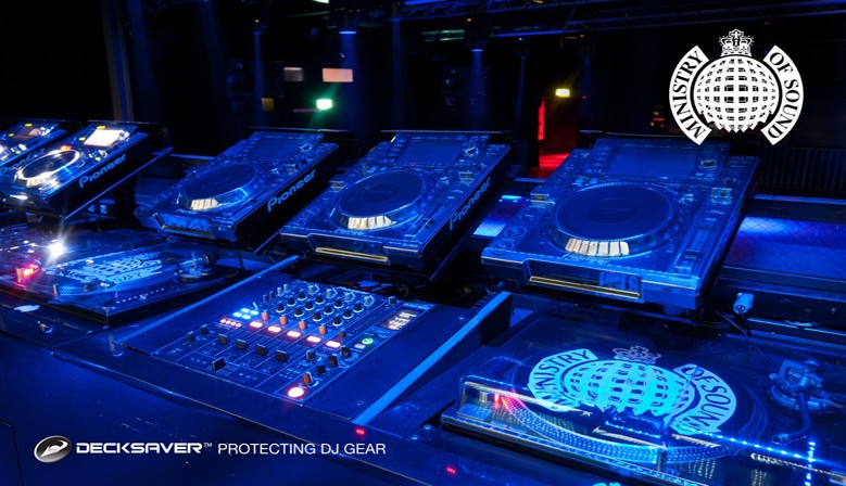 DeackSaver no Ministry of Sound em Londres